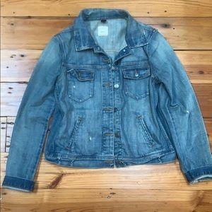 JCREW jean jacket, medium
